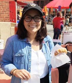 BMC Breast cancer survivor Maria Narvaez