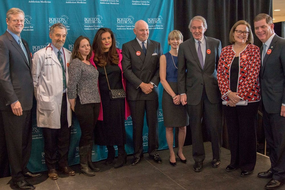 BMC Receives Record $25 Million Gift from Grayken Family to Advance Leadership in Treating and Preventing Opioid Use Disorder