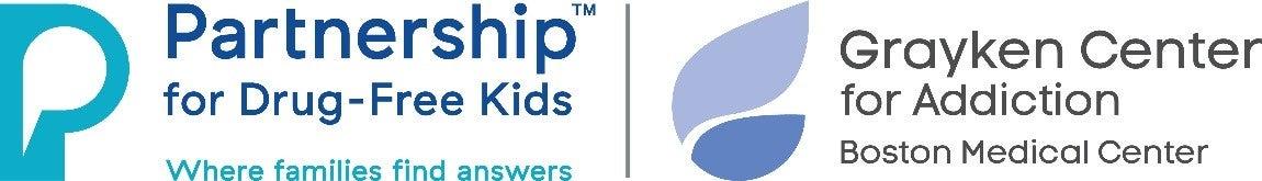Grayken Center and Partnership for Drug Free Kids logo