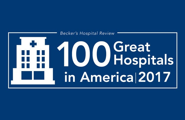 BMC Named as one of the 100 Great Hospitals in America