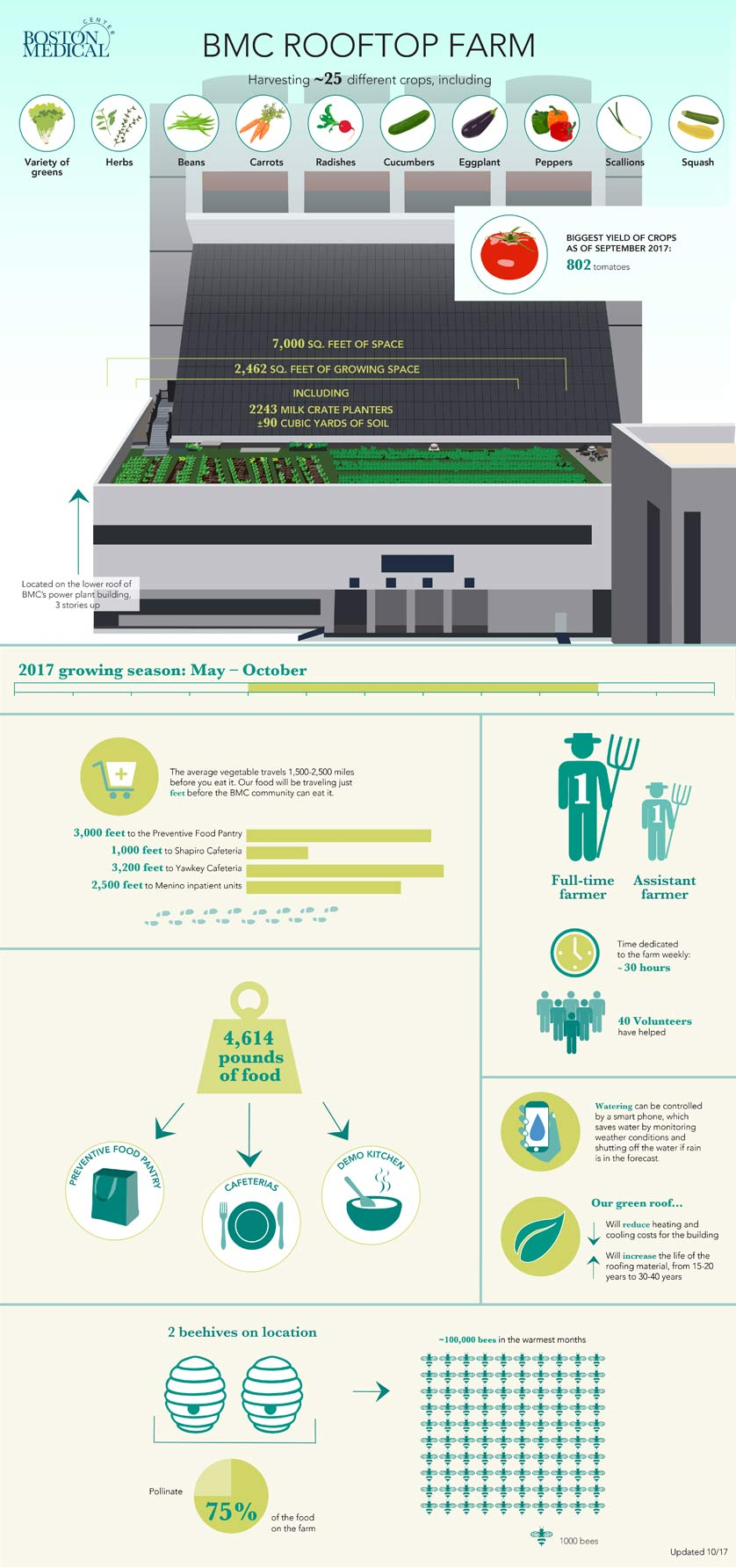 Rooftop Farm Infographic