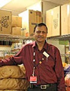 Latchman Hiralall, Food Pantry Manager