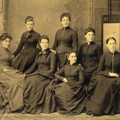 old photo of women