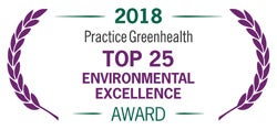 2018 Practice Greenhealth Award - top 25
