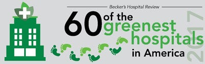 Becker's 60 Greenest Hospitals award