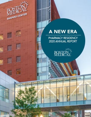 Building the Future Pharmacy Residency 2019-2020 Annual Report