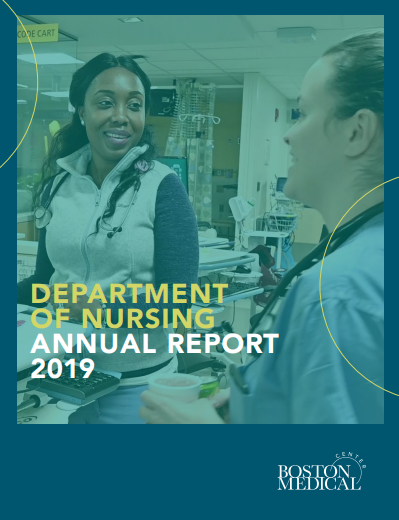 2019 Nursing Annual Report Cover