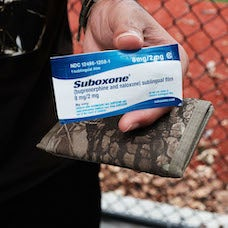 Suboxone sublingual film
