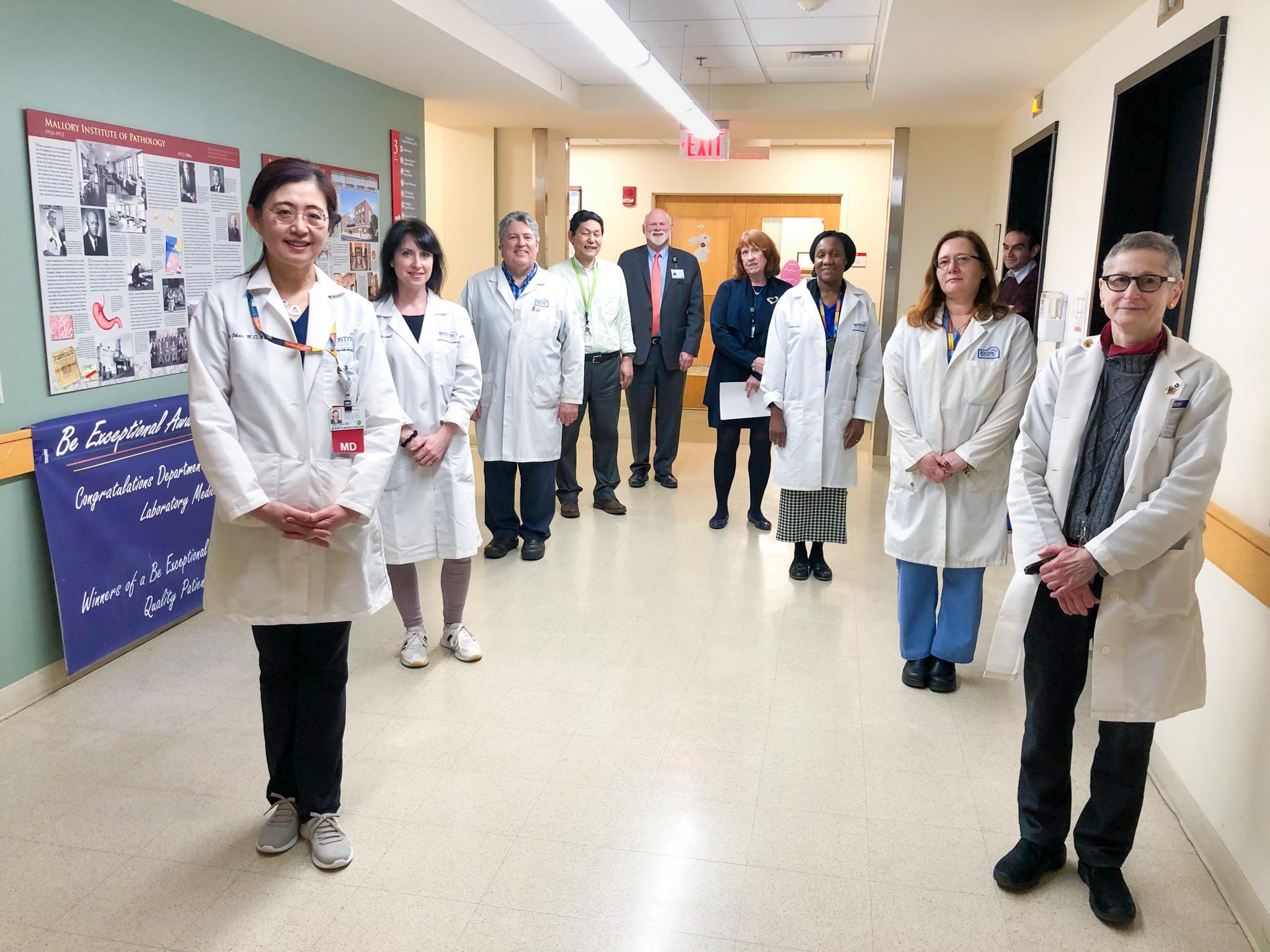 Representatives of the BMC Pathology and Laboratory Medicine Cov-2 Team