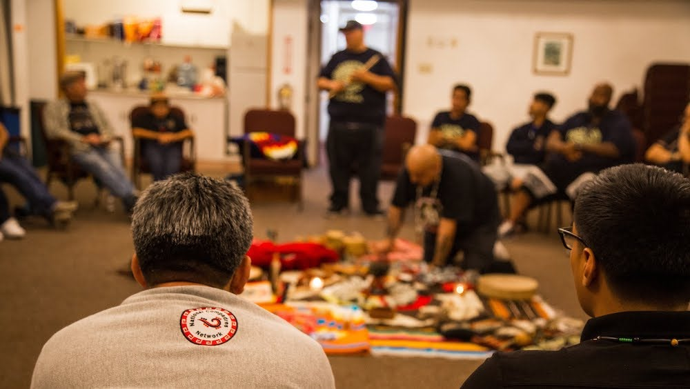 A Círculo (kinship circle) reconnects communities and fosters collective work toward individual and community healing and healthy development