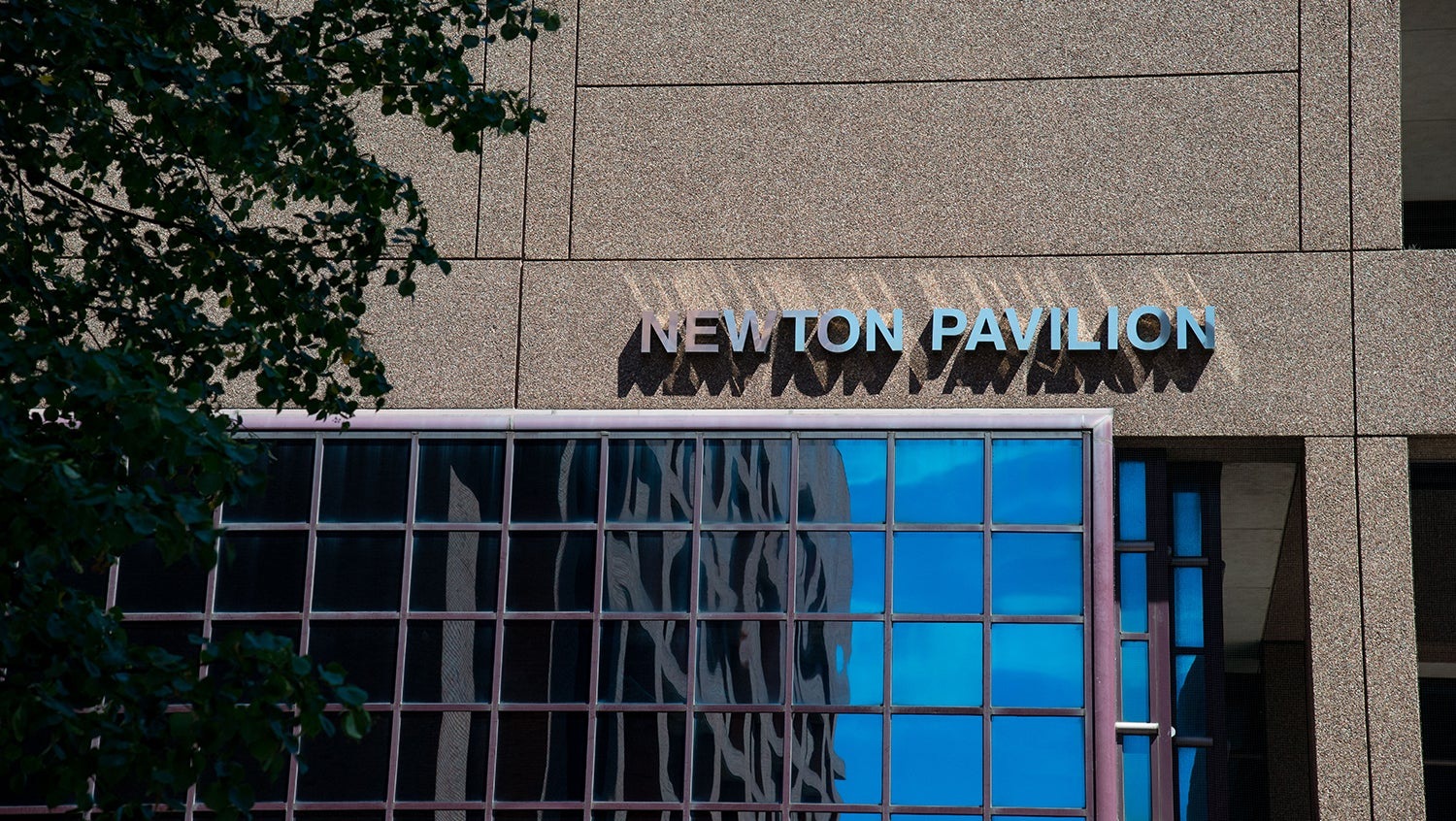 face of the East Newton Pavilion building