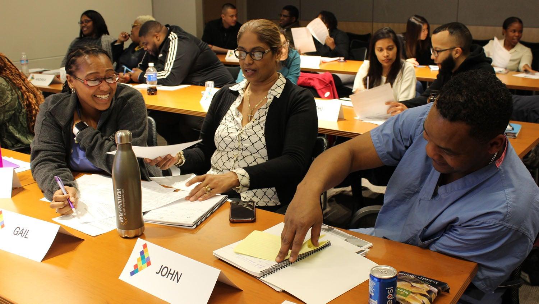 boston medical center pathways leadership program students