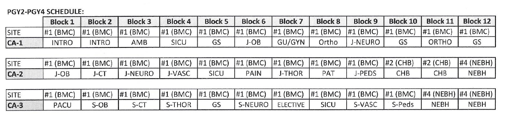 anesthesia-block-schedule.