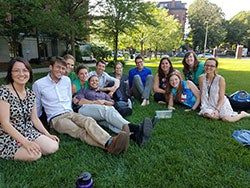 BMC Family Medicine Residents on the green