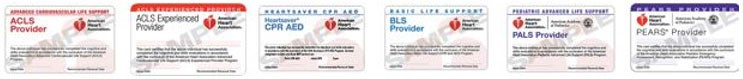 american heart association certification cards
