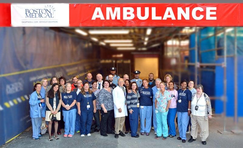 BMC Ambulance Bay