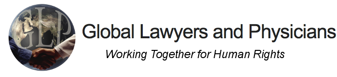 Global Lawyers and Physicians logo