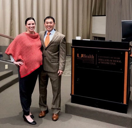 Dr. Xinning Li invited to give grand rounds to the University of Miami department of orthopaedic surgery