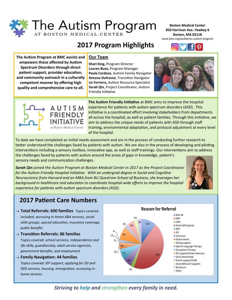 2017 Program Highlights