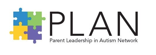 PLAN Parent Leadership in Autism Network logo