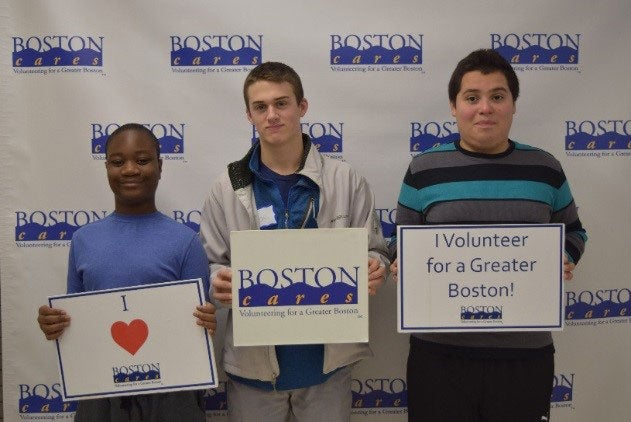 Volunteering on the MLK Day of Service with Boston Cares
