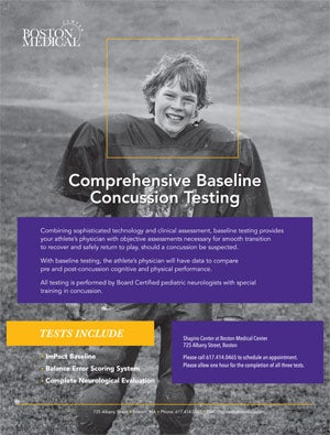 Comprehensive Baseline Concussion Testing