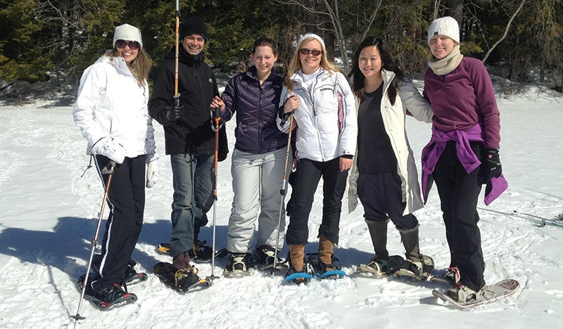 Pediatric Neurology Residents ski outing