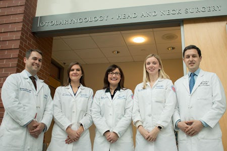 Nose, Sinus, and Allergy Care team of physicians