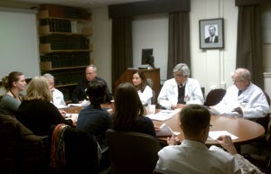 This is a photo of the Stroke Task Force Meeting.