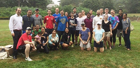 BMC Surgical Residents Social Wellness Kickball Outing