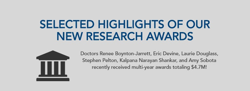 Selected Highlights Of Our New Research Awards