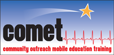 COMET - Community Outreach Mobile Education Training logo