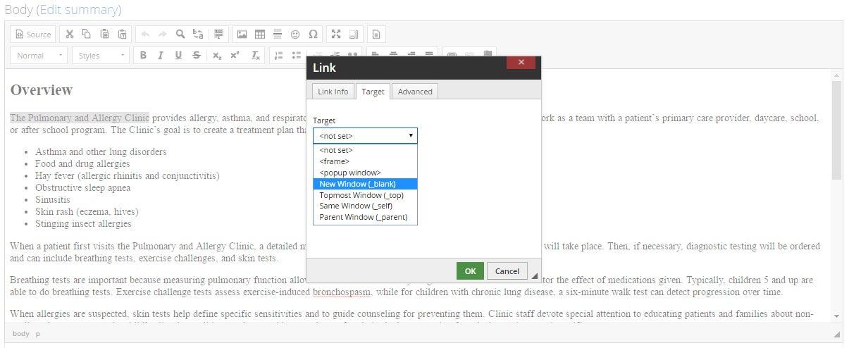 Target _blank - Open Link in a New Window