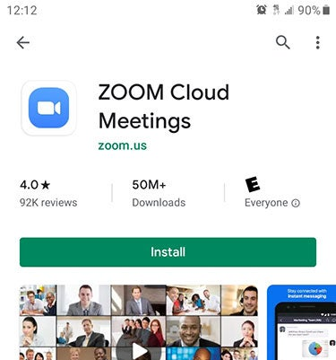 Android Zoom