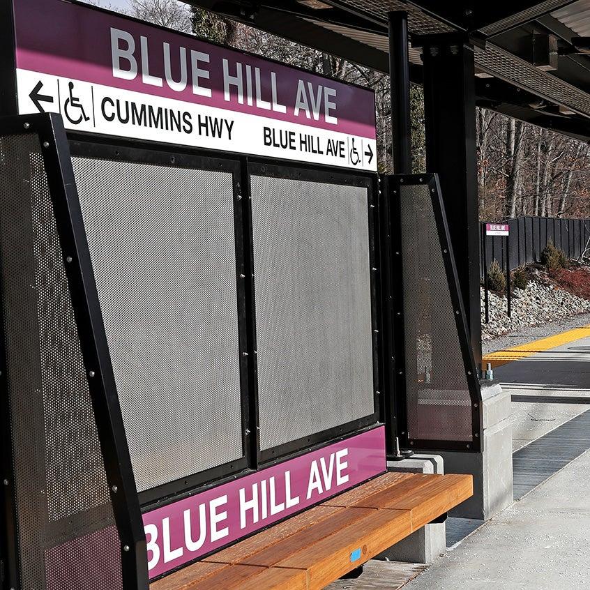 blue hill ave mattapan fairmount corridor mbta station