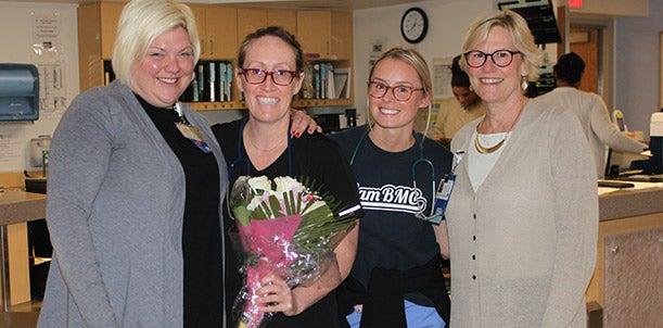 Congratulations Ann Horner, RN, BSN!