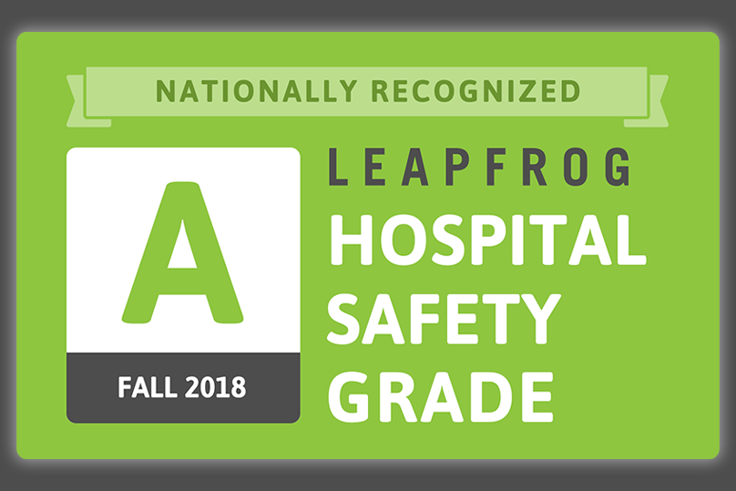 Boston Medical Center Receives an 'A' for Patient Safety in Fall 2018 Leapfrog Hospital Safety Grade